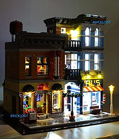 lego office. detectiveu0027s office lighting kit for lego 10246 set not included by brick loot