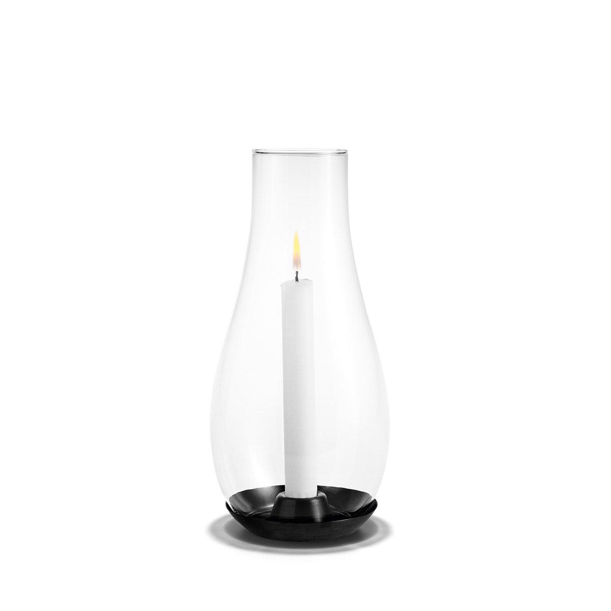 Holmegaard - Design Design Design with Light Kerzenhalter, Glas, Stahl, für Stabkerzen, Laterne, Windlicht 094962
