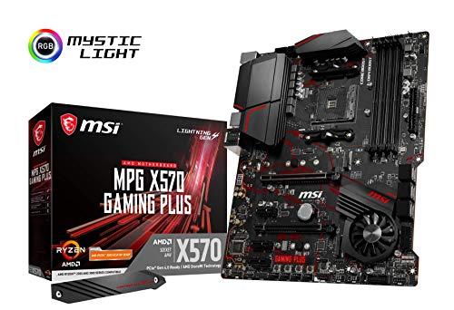 MSI MPG X570 Gaming Plus – Placa Base Performance Gaming (Chipset AMD X570, DDR4, Audio Boost, Intel Lan, Socket AM4…