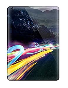 DanielFletcher Ipad Air Hybrid Tpu Case Cover Silicon Bumper Funky High Way