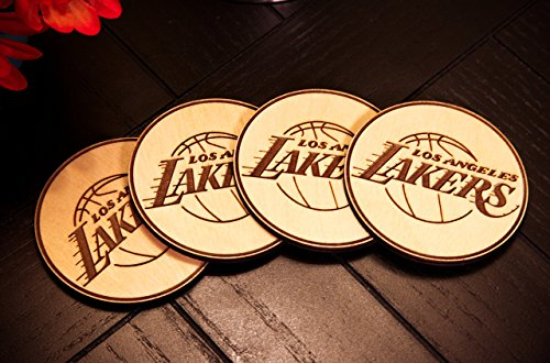 Personalized Coasters - Set of 4 - Sports Teams - Circle Rayban Glasses