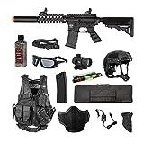 Valken Tactical Valken Battle Machine SD Storm Trooper Airsoft Rifle Package