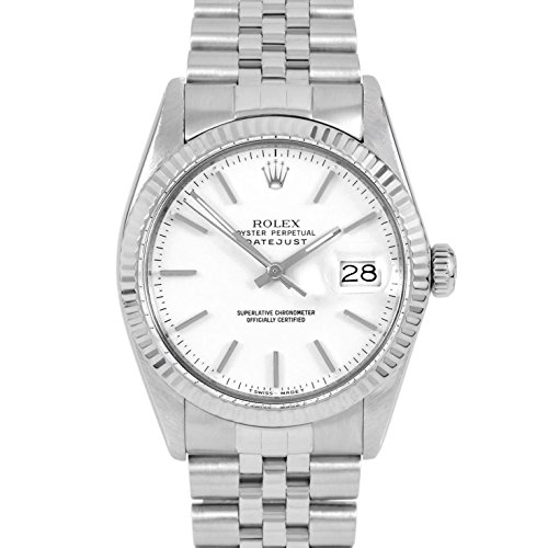 Rolex Datejust Automatic-self-Wind Male Watch 16014 (Certified Pre-Owned)