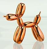 Balloon Dog Figurine Statue Home Decor - Rosegold Metallic by GTP