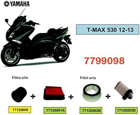 Pack filtre /à air et huile pour T-Max 2008/ /2011