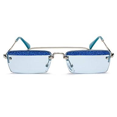 IOSHAPO Retro gafas de sol rectangulares pequeñas Colores ...