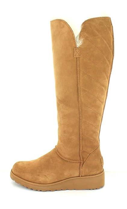 7743e5be3d UGG Australia Stiefel Schuhe Rosalind Damen Echtleder Lammfell-Stiefel Braun,  Größenauswahl:40 (US 9): Amazon.de: Schuhe & Handtaschen