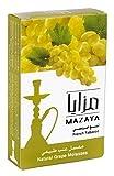 Mazaya Shisha Molasses Premium Flavors 100g For Hookah NonTobacco (Grape)