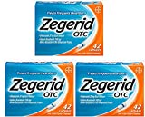 Zegerid OTC Acid Reducer Capsules, 42 Count (Pack of 3)