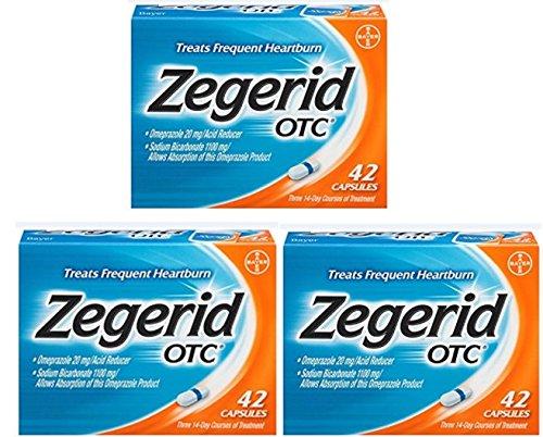 Zegerid OTC Heartburn Relief, 24 Hour Bdawe (.3 Pack (126 Count))