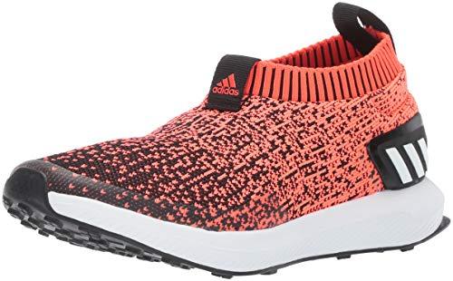 adidas Unisex RapidaRun Laceless Knit Running Shoe, Solar re
