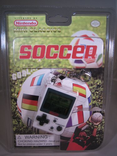Soccer mini Classics Video Game Key Chain