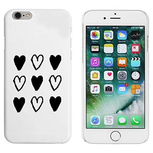 Blanc 'Fond de Coeur' étui / housse pour iPhone 6 & 6s (MC00017798)