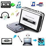 Cassette to MP3 Converter,USB Cassette Player to