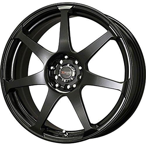 Drag Wheels DR-33 17x7.5/ 4x100/ 4x114.3 Gloss Black Full rims Drag Dr 33 Wheels