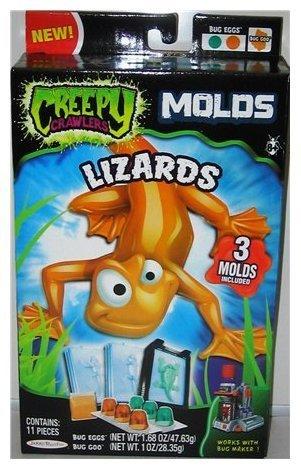 - Creepy Crawlers Mold Pack - Lizards