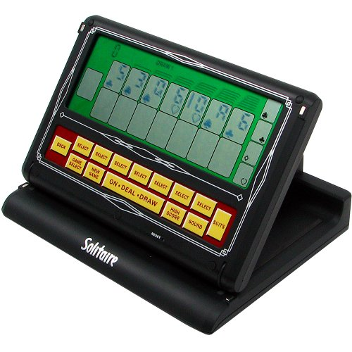 Handheld Solitaire Game - Reczone Portable Touch Screen 2-in-1 Solitaire