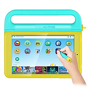 Dragon Touch K8 8 inch Kids Tablet, Kidoz Pre-Installed with All- Disney Content (more than $80 Value), 2GB RAM 16GB Nand Flash 800x1280 IPS Display, Android 6.0 Marshmallow Android Tablet