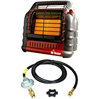 Mr. Heater Propane Big Buddy Portable Heater w/ 10 Propane Hose & Regulator