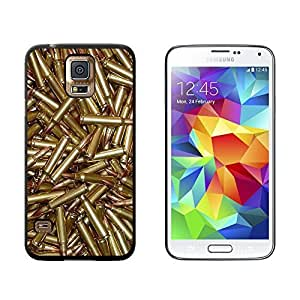 New Style Bullets - Rifle Gun Weapon - Snap On Hard Protective Case for Samsung Galaxy S5 - Black