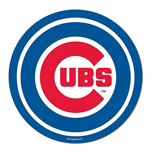 Wincraft MLB Chicago Cubs Logo on The GoGo Decals, Team Color, One Size