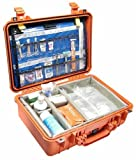 Pelican 1500EMS   EMS Protector Case for First Aid Medical Equipment Orange