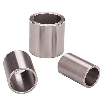 Metric  Bushings //Spacer//Sleeve 14  MM OD X 8 MM ID X 18  MM Long  Steel  1 Pc