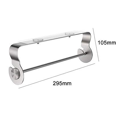 Bathroom Fixtures Under Cabinet Paper Holder Roll Towel Hanging Holder Rack Metal Paper Holder Bathroom Tools Bathroom Hardware