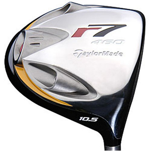 TaylorMade Men's r7 460 Driver (Right-Handed, 9.5 Degree Loft, RE-AX 60 Graphite Regular Shaft) (Taylormade R7 Quad Driver)