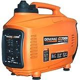 Generac 5793, 2000 Running Watts/2200 Starting Watts, Gas Powered Portable Inverter
