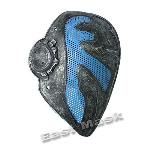 Caballeros templarios - Malla De Alambre, máscara protectora para airsoft paintball (haga clic para seleccionar color azul): Amazon.es: Deportes y aire ...