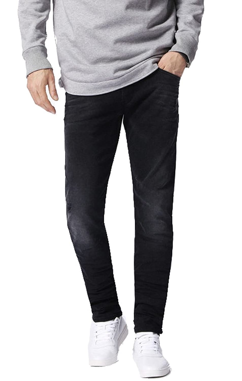 Sayhi Men Casual Camo Sport Multi-Pockets Elastic Waist Jogging Pants