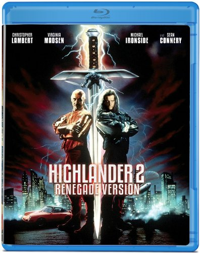 Highlander 2 Renegade Version Blu ray
