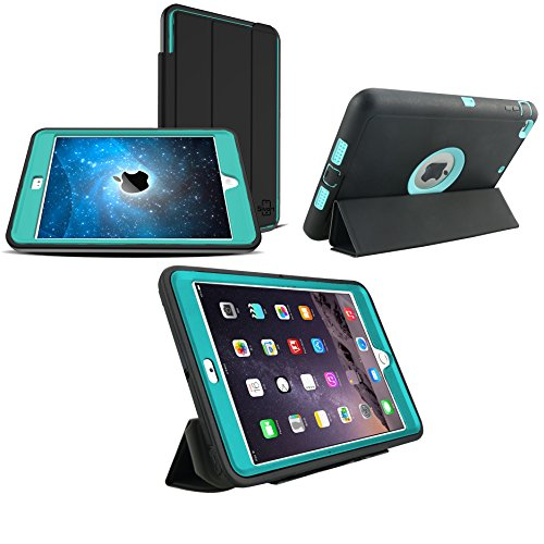 iPad Pro 12.9 Case (2015 & 2017) | Extreme Heavy Duty Protection With Built-In Screen Protector | Smart Magnetic Sleep / Wake Feature | Water, Dust, & Scratch Resistant (Light - Car To On Way Best Surface Scratches Remove