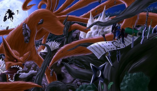 Naruto First Hokage VS Madara CUSTOM PLAYMAT ANIME PLAYMAT #127 (Custom Yugioh Playmat compare prices)
