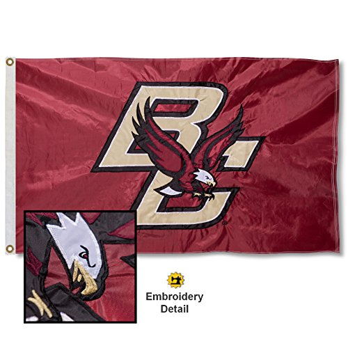 College Flag - Boston College Embroidered and Stitched Nylon Flag