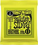 #7: Ernie Ball Regular Slinky Nickel Wound Sets, .010 - .046 (3 Pack)