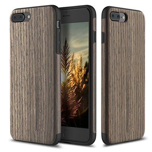iPhone 7 Plus Case Grey Wood