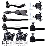 ECCPP Complete Ball Joints Tie Rod Ends Pitman