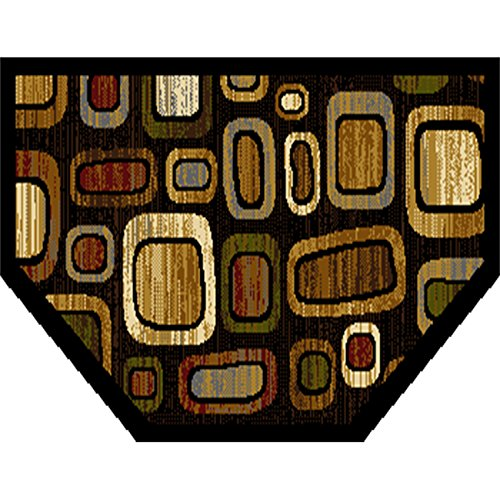 Home Dynamix HD552A-465 Royalty Collection Hearth Area Rugs, 23-Inch, Black/Multicolor