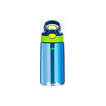 RBHT Botella de Agua de Dibujos Animados Portátil, Botella de Agua Deportiva Creativa y Bonita