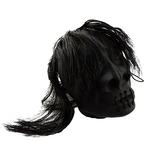 Novelty Mini Shrunken Head Prop w/ Hanging String -