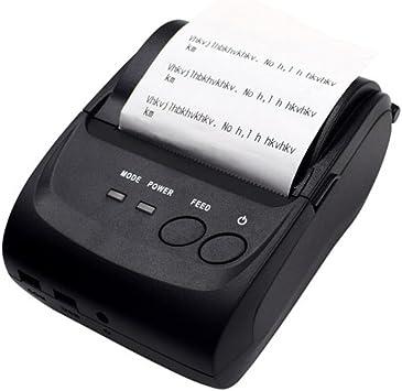 ZIJIANG 58 mm portátil Bluetooth 4.0 impresoras Mini impresoras de ...