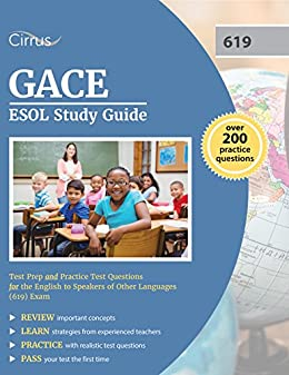 Amazon gace esol study guide test prep and practice test gace esol study guide test prep and practice test questions for the english to speakers fandeluxe Image collections
