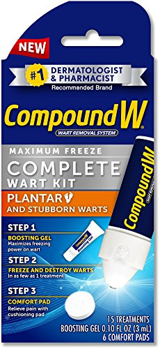 Compound W Freeze Off Wart Removal System | Maximum Strength Complete Wart...