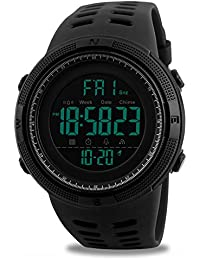 Mens Digital Sport Watch, Military Waterproof Watches...