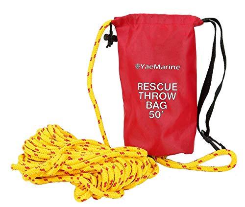 YaeMarine Rescue Throw Bag, Rescue Rope Throw Bag