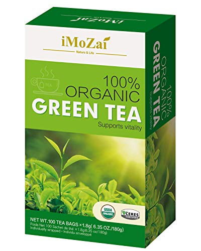 Imozai Organic Green Individually Wrapped