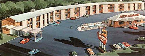 Best Western Buffalo Inn, Motor Hotel & Restaurant Goodland, Kansas Original Vintage Postcard