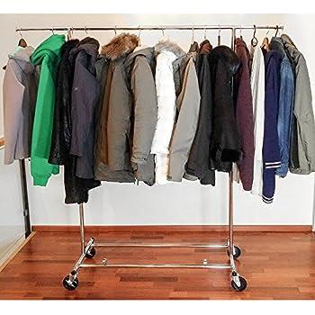 commercial grade adjustable garment rack home kitchen. Black Bedroom Furniture Sets. Home Design Ideas